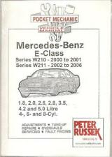 mercedes e class handbook owners manual w211 2002 2006 ebay rh ebay com w211 service manual pdf