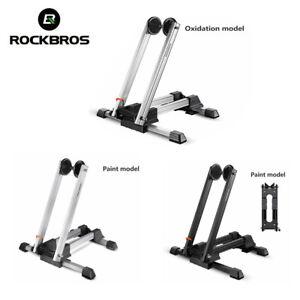 ROCKBROS Road Bike Stop Stand MTB Folding Floor Portable Bicycle Kickstand Rack