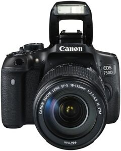 Canon EOS 750D + 18-135 IS STM