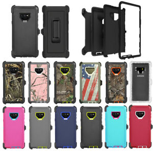 size 40 afd3e 6427b Details about For Samsung Galaxy Note 9 Defender Case w/ Screen & Belt Clip  fits Otterbox