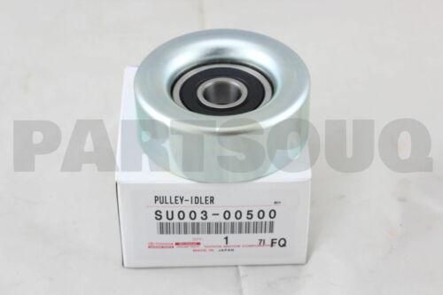 NO.1 SU003-00500 SU00300500 Genuine Toyota PULLEY SUB-ASSY IDLER