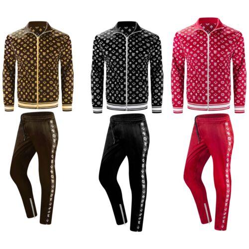 New Men Hip Hop Track Suit Track Pants Jacket 3 Colors ALL SIZES S-3XL