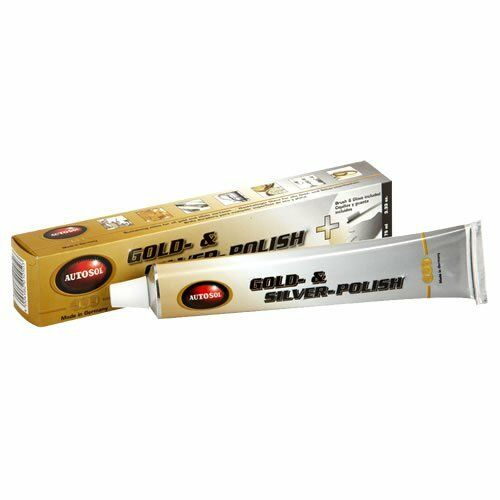 Solvol Autosol GOLD SILVER Platinum Metal Cleaner Polish Restorer 75ml