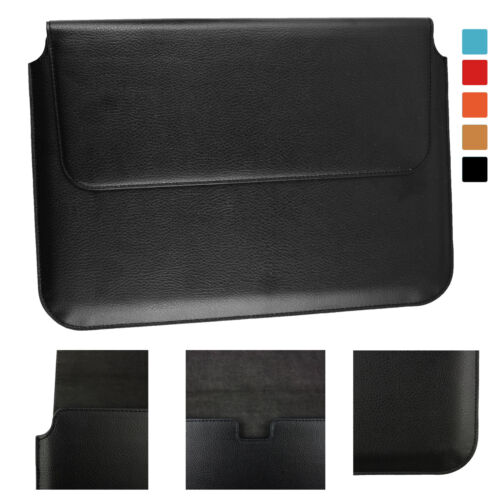 PU Leder Hülle Tasche Magnetisch für Trekstor Surfbook A13B 13.3 Laptop