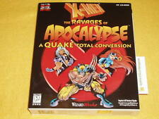 X MEN RAVAGES OF APOCALYPSE QUAKE TOTAL CONVERSION NEW PC ...VERY RARE X-MEN