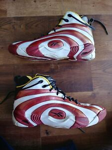 8ae80681c79d64 Image is loading Reebok-Shaqnosis-OG-Miami-Heat-Marble-Basketball-Shoes-
