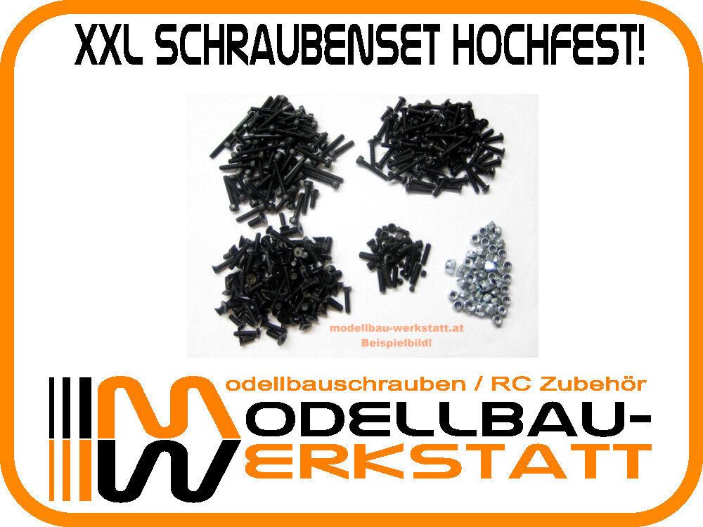 XXL Schrauben Set Stahl hochfest Mugen MGT7 1 8 Nitro Touring Car screw kit