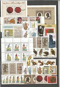DDR-postfrisch-1982-Jahrgang-ohne-Einzelmarken