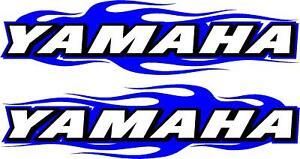 "Kawasaki logo flame 2 sticker decal set 11/"" x 48/"" each"