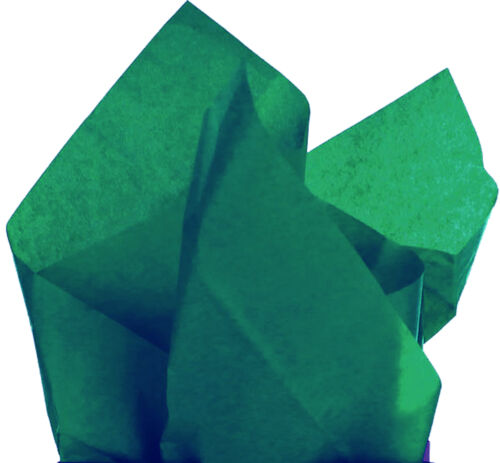 """100 Sheets of CRISP Dark Green Tissue Paper 20 x 30/"""" A//F More Qty/'s in Store"""