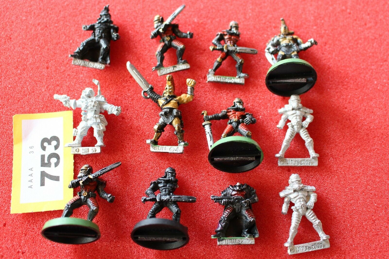 Umltd 2005 Metal Miniatures Job Lot 25mm Army Necromunda Warhammer Spares Lot