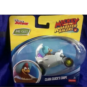 Disney-Junior-Mickey-And-The-Roadster-Racers-Clara-Cluck-039-s-Coupe-New-Release