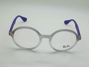 2c636790d7c NEW Authentic Ray Ban RB 7075 5600 Purple Iridescent 47mm RX ...