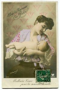 CPA - Carte Postale - Fantaisie - Pour la naissance de bébé (M8474)   eBay