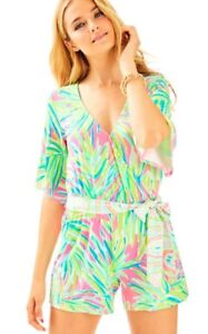 f8f5047e5c5f Image is loading NWT-Lilly-Pulitzer-Madilyn-Romper-Size-Small