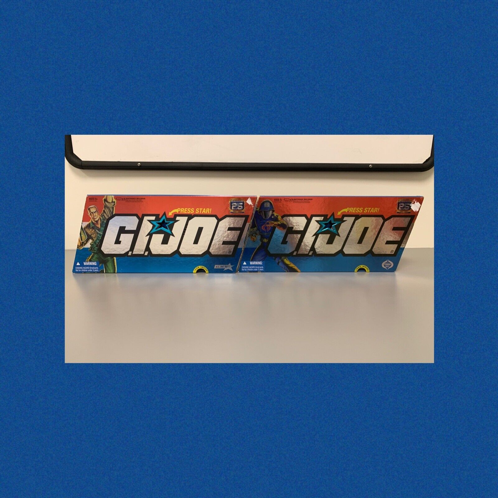 G.I. Joe 25th Anniversary 2007 azione Sets  Cobra & GI Joe Set