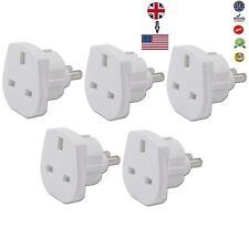 5 x UK to USA, JAPAN, MEXICO CANADA Power Adaptor Plug Converter Travel Adaptor