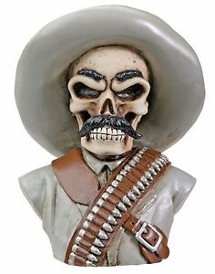 Mad Mustache Gun Slinging Poncho DIY Shift Knob Rat Rod Gear Lever Human Bust