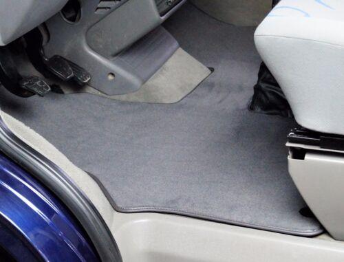 Tapis De Sol VW t4 2-Places Premium Velours cabines-Tapis Transmission Automatique gris