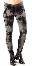 2015 NWOT WOMENS NIKITA SUMMIT JEANS $58 27 X 34 black marble stretch leg logo
