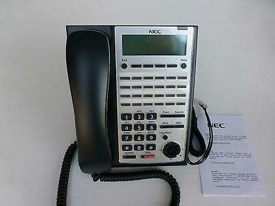Brand new NEC DTZ-24D-3A (Bk) TEL DT400 for SV9100 12 months w/ty. Tax invoice