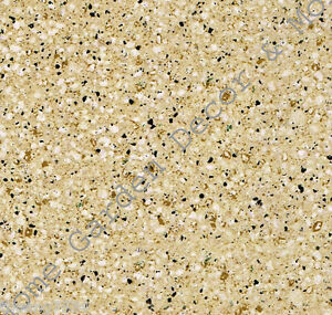 Gold Beige Granite Self Adhesive Vinyl Contact Paper Shelf