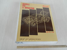 MANUALE OFFICINA ORIGINALE ALFA ROMEO ARNA 1985