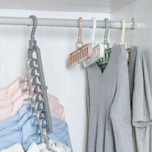 Multi-port-Support-Circle-Clothes-Hanger-Drying-Rack-Multifunction-Storage-Racks