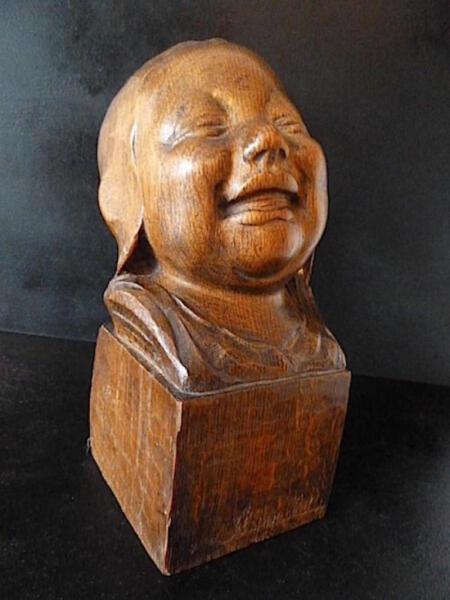 Logisch Baby Holz Geschnitzt Xx Unterzeichnet Mit Cappelletti Wood Bambino Italien Art