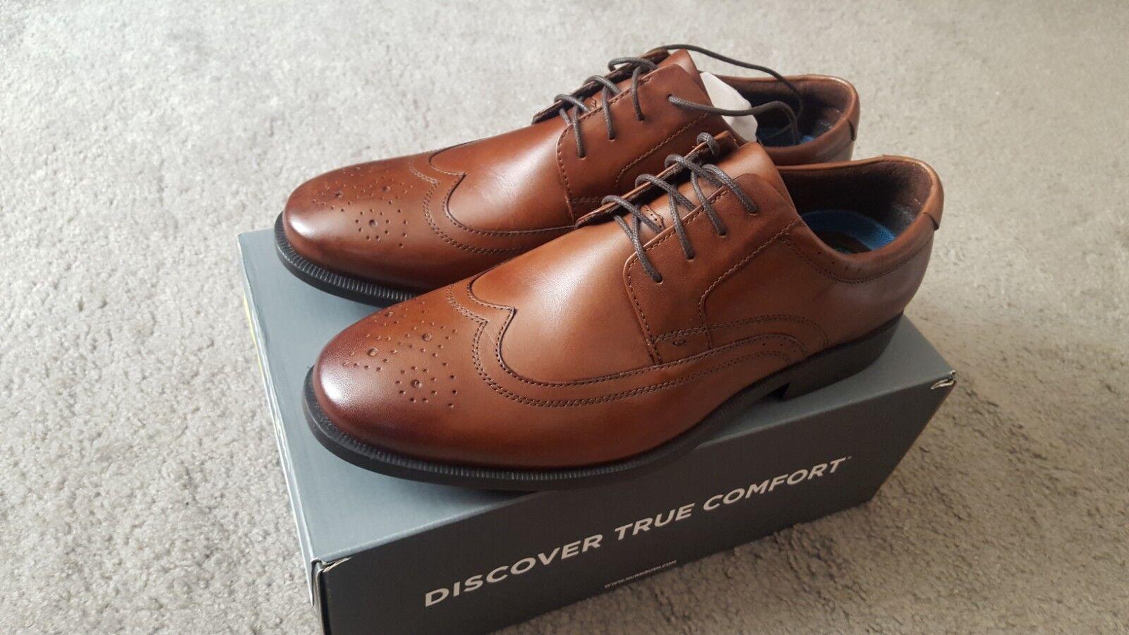 Nunn Bush  Decker  leather comfort dress dress dress schuhe - braun 10.5 W 4ec7b4