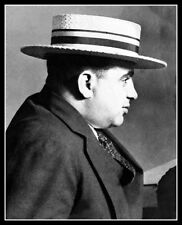 Collectibles Mugshot Of Infamous Chicago Mafia Gangster Al Capone Mobs, Gangsters & Criminals New 8x10 Photo