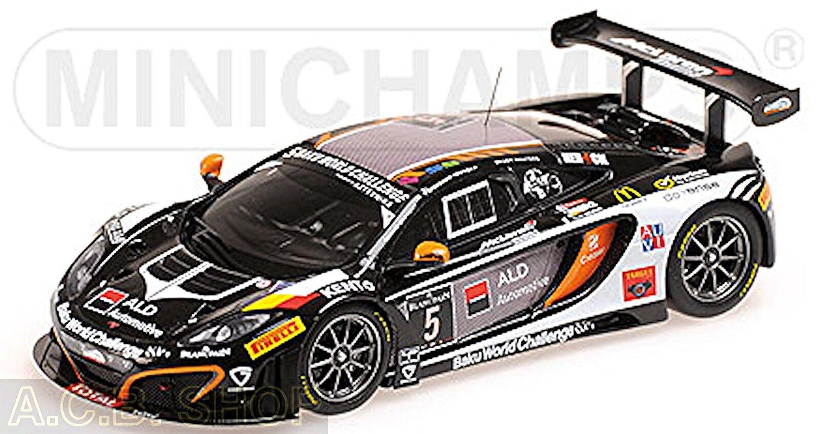 Mejor precio Mclaren 12c 12c 12c gt3 24h 2013 spa-boutson ginion racing  5 1 43 Minichamps  edición limitada