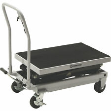 Strongway 2 Speed Hydraulic Rapid Lift Xt Table Cart 1000 Lb Cap 54 14in Lift