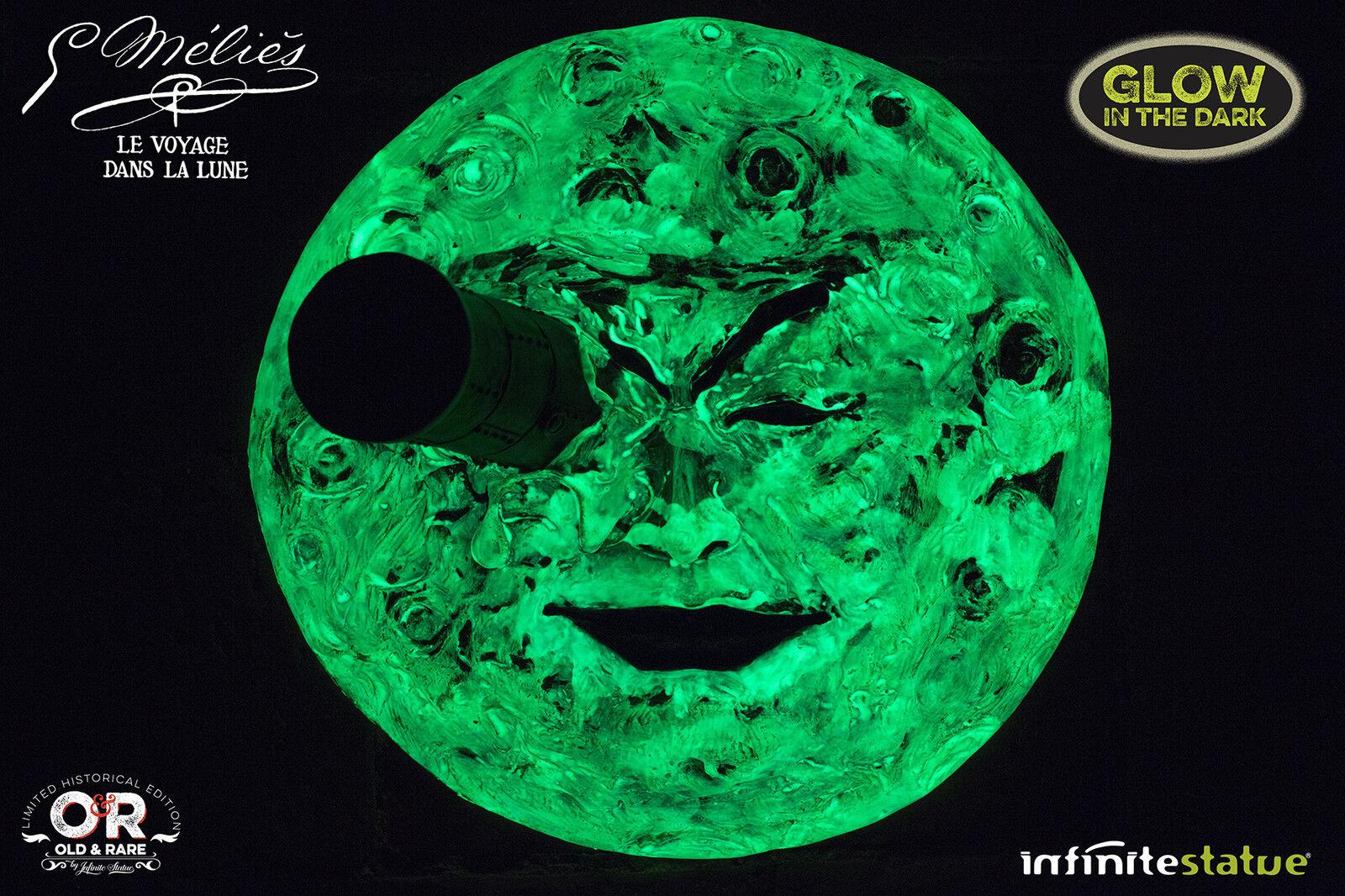 La luna di Méliès Full Moon Special Edition Glow In The Dark fluorescent finish