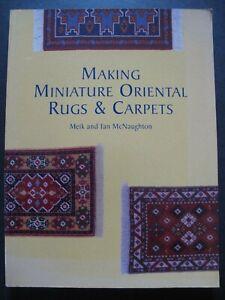 Making Miniature Oriental Rugs