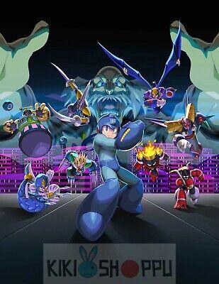 Poster A3 Mega Man Rockman Videojuego Videogame Anime Serie Cartel 01
