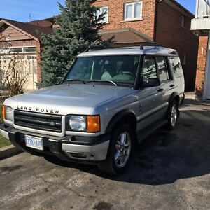 2001 Land rover discovery two series