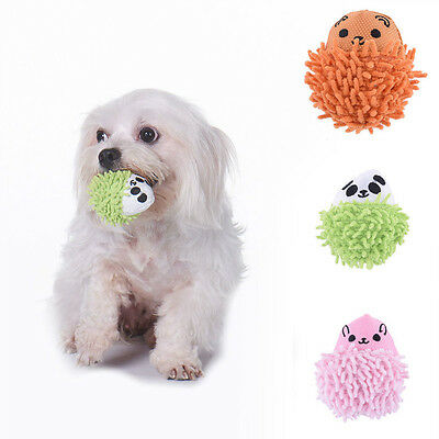 New Squeaker Ball ToysCute Hedgehog Shape Pet Dog Puppy Squeaky Chew Toy Supply
