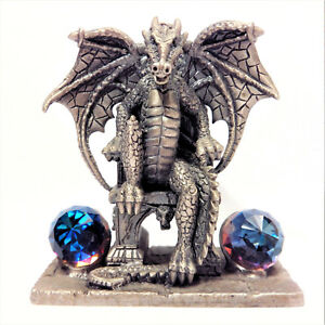 MYTH-AND-MAGIC-034-The-Dragon-King-034-3123-Figura-Vintage-1994