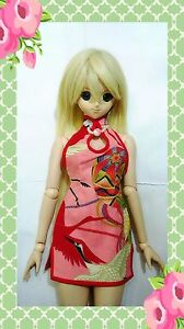 1-3-Dolls-Cheongsam-Pink-fit-Volks-Super-Dollfie-Dream-Luts-BJD-SD-DD