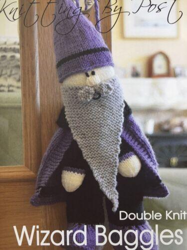 Knitting por correo asistente Baggles Tejer patrón