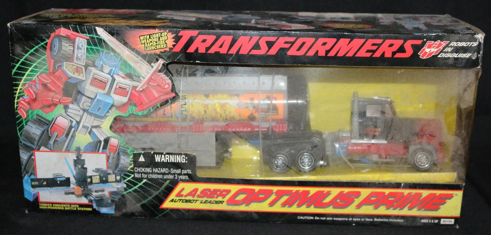 Transformers  G2 Laser Autobot Leader Optimus Prime (Sealed) 1995