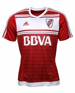 17b2ad630e0cb River Plate AWAY Shirt Adidas River Plate Football Shirt Adult Size ...