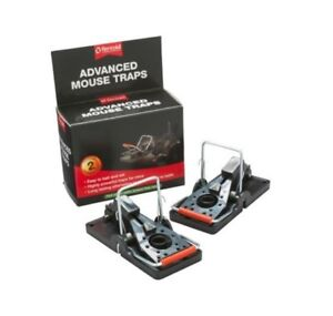 Rentokil Advanced Mouse Traps Twin Pack Powerful Long Lasting - 2 Traps