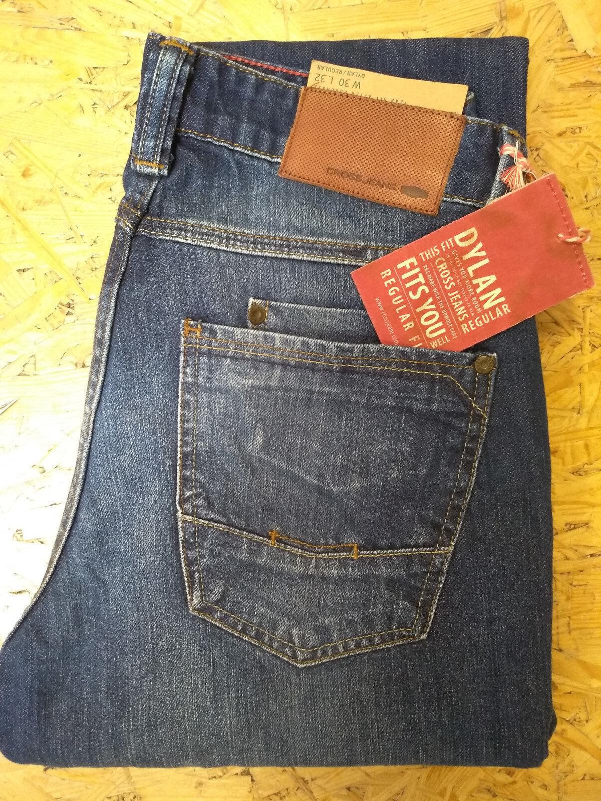 Cross -- 100% 100% 100% BW -- Jeans -- Dylan -- 010-- Regular Fit -- Herren dd08a8