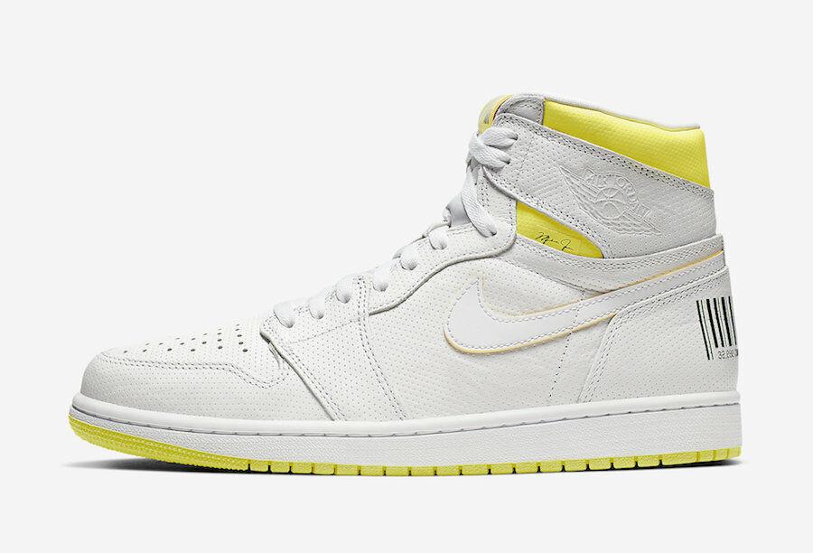 Nike Air Jordan 1 First Class Flight White Men's Basketball Shoes ...