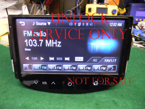 Details about PROGRAM SERVICE CHEVY SONIC SPARK TRAX Mylink RADIO UNLOCK  PLUG AND PLAY