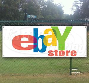 Ebay Store Advertising Vinyl Banner Flag Sign Many Sizes Available Usa Ebay