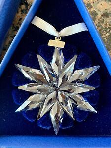 New 2011 SWAROVSKI Large Christmas Ornament Star Snowflake ...