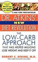 Dr. Atkins` Diet Revolution By Robert C. Atkins, (paperback), Harper , New, on sale
